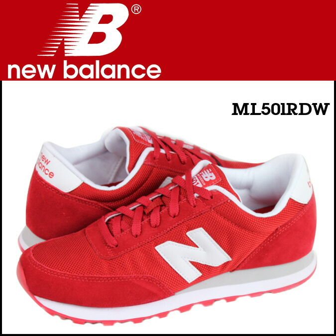 red new balance 501