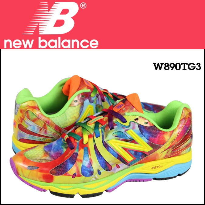new balance multi color sneakers
