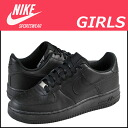 Nike kids NIKE AIR FORCE 1 LOW GIRLS 314192-009 Womens sneakers air force 1 Lo girls leather junior children GIRLS KIDS