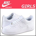 Nike kids NIKE AIR FORCE 1 LOW GIRLS 314192-117 women's sneakers air force 1 Lo girls leather junior children GIRLS KIDS