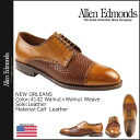 Allen Edmonds Allen Edmonds New Orleans caps to shoes NEW ORLEANS 4142 calf x weave leather E wise men