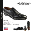 Allen Edmonds Allen Edmonds strand wingtip shoes STRAND 6115 カスタムカーフ leather E wise men