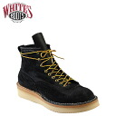 Whites boots WHITE's BOOTS 6 inch Northwest boots 350 NWCROLTT06 6inch North West Black Rough Out Boots E wise BLACK ROUGHOUT mens whites boots Northwest