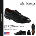 Allen Edmonds Allen Edmonds New Orleans caps to shoes NEW ORLEANS 4142 calf x wave leather E wise men's ★ ★