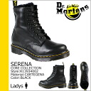 8 doctor Martin Dr.Martens hall boots R13934002 SERENA leather Lady's