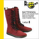 Point 2 x Dr. Martens Dr.Martens 14 hole boots R15033600 BATTERSEA canvas women's 02P13Dec13_m