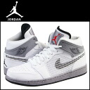 1 89 599,873-104 nike NIKE AIR JORDAN RETRO sneakers nike Air Jordan 1 nostalgic leather X mesh men