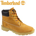 Timberland Timberland 6 inch basic boot [wheat × honey] 10960 6inch Basic Boot nubuck junior kids child ladies GS [regular]
