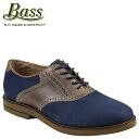 ジーエイチバス G... H... BASS Burlington saddle shoe [Navy x Earth, BURLINGTON D wise nubuck × leather men's [regular]