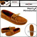 «Pre-order items» «1 / 28 days will be in stock» Minnetonka MINNETONKA double bottom fleece moccasins DOUBLE BOTTOM FLEECE Sheepskin mens [Brown], [773] [1 / 28 new stock] [regular] ★ ★