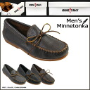 «Pre-order items» [1 / 28 days will be in stock» moccasins Minnetonka MINNETONKA Street 3 color [971 972 979] STREET MOC leather men's [1 / 28 new stock] [regular] ★ ★