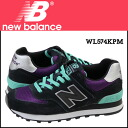 «Booking products» «11 / 28 days will be in stock» new balance new balance WL574KPM Womens sneakers B wise nubuck x mesh black ★ ★