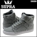 Sioux plastic SUPRA SKYTOP S18218 sneakers sky top linen men gray [3/8 Shinnyu load] [regular]★★