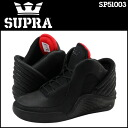 Sioux plastic SUPRA CHIMERA SP51003 sneakers chimera leather X mesh men black [3/8 Shinnyu load] [regular]★★