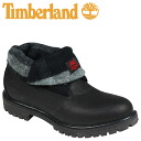 Point double Timberland Timberland icon roll top 6925R [black] Icon Roll Top leather men [regular] 02P31Aug14
