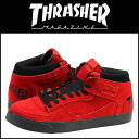 Slasher THRASHER BUCHANAN DOG sneakers TSBDS-131RBS Buchanan dog suede men gap Dis suede cloth red