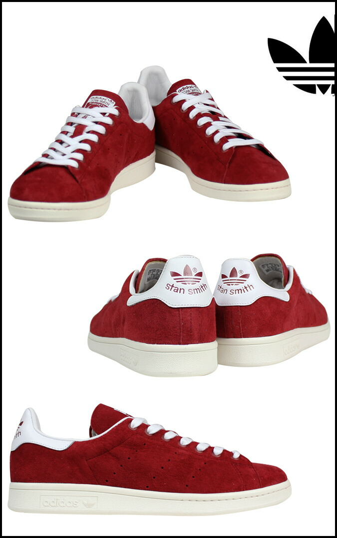 stan smith adidas red suede women