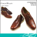 Cole Haan Cole Haan luna ground wing tip [2 colors] LUNARGRAND WINGTIP leather men shoes SHOES C12598 C12599 [4/28 Shinnyu load] [regular] ★★ fs04gm