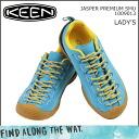 KEEN keen women's JASPER PREMIUM SMU sneakers Jasper premium nubuck blue 1009013 [regular]