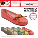 Minnetonka MINNETONKA moccasins canvas mock 4 colors CANVAS MOC Womens 2014 new limited 230 231 235 236 239 [5 / 27 Add in stock] [regular]