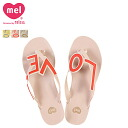 Melissa Melissa Mel love City [4 colors] MEL LOVE CITY rubber ladies Sandals 32112 [genuine]