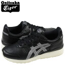Point 2 x ONITSUKA Tiger ASICs Onitsuka Tiger asics women's TIGER ALLIANCE sneakers Tiger Alliance leather black TH4B 3L-9090 [5 / 13 new in stock] [regular] 02P01Jun14