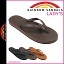 3 color RAINBOW SANDALS Rainbow Sandals Womens SINGLE LAYER PREMIER LEATHER WITH ARCH SUPPORT AND A NARROW STRAP Sandals 302 ALTSN [regular]