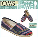 Point 2 x TOMS SHOES Toms shoes mens slip-on GUATEMALAN MEN's CLASSICS Guatemala classic cotton Toms Toms shoes 2014 new Navy [regular]