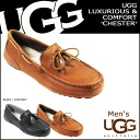 2014 UGG アグメンズチェスターモカシン [2 colors] MENS CHESTER sheepskin SPRING new works 1004247 [regular]