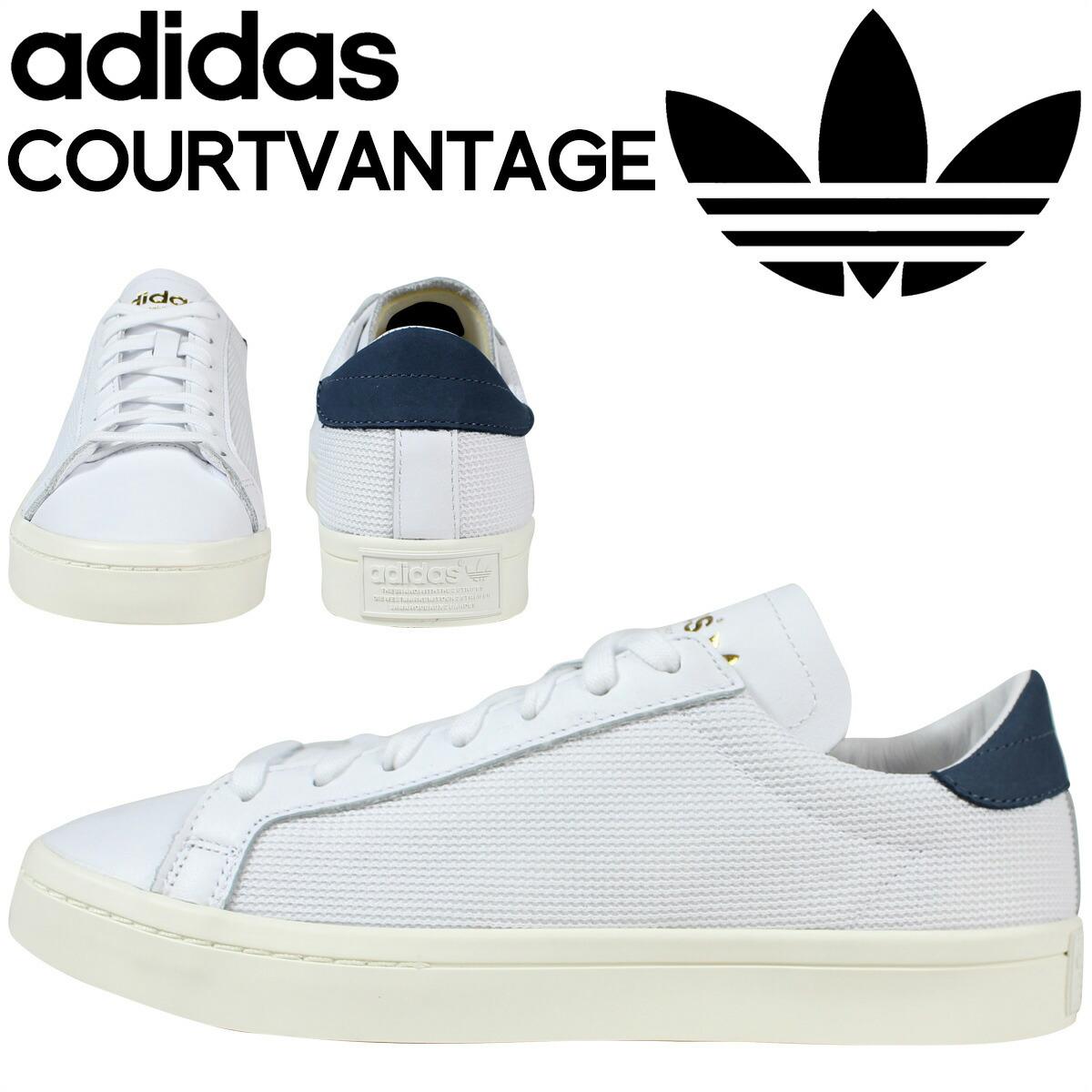 Adidas Originals Court Vantage White