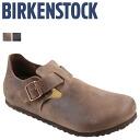 [SOLD OUT] Birkenstock-BIRKENSTOCK LONDON [normal width nubuck] cocoa men's women's Sandals room shoes unisex [regular]
