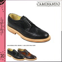 Point 10 times カミナンド CAMINANDO long wing tip shoes LONG WINGTIP SHOES leather men's Oxford 2014 years receiving 14107 2 color [7 / 29 new stock] [regular]