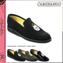 Points 10 times カミナンド CAMINANDO embroidery slip-on shoes EMBROIDERY SLIP ON SHOES suede leather mens SKULL skull embroidery 2014 years receiving 14104 3 colors suede [7 / 29 new stock] [regular]