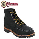 Chippewa CHIPPEWA 6 inch suede MOC to field boots 6 INCH SUEDE MOC TOE FIELD BOOT D wise suede men's 1901M62 black [1 / 20 new in stock] [regular] ★ ★