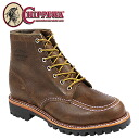 Chippewa CHIPPEWA 6 inch bomber mock to field boots 6 INCH BOMBER MOC TOE FIELD BOOT D wise suede x men's 1901M64 Brown Leather [1 / 20 new in stock] [regular] ★ ★