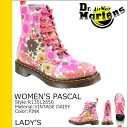 Dr. Martens Dr.Martens ladies Pascal 8 hole boots WOMEN's PASCAL 8 EYE BOOT leather lace-up boots R13512650 pink [10 / 24 new in stock] [regular]