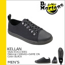 Point 2 x Dr. Martens Dr.Martens kerann racing shoes KELLAN LACE TO TOE SHOE canvas x leather men's casual shoes R16115001 black [regular] P06Dec14