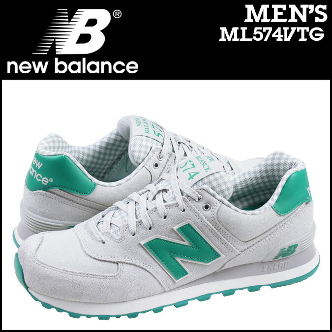 new balance 574 suede Green
