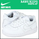 Nike NIKE baby kids AIR FORCE 1 LOW TD sneakers air force 1 Lo toddler leather junior kids BABY TODDLER 314194-117 white [1 / 6 new in stock] [regular] ★ ★