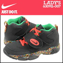 630,911-007 nike NIKE Lady's AIR MISSION GS sneakers air mission girls leather kids Jr. child GIRLS air mission BLK/CHLLNG RD black [8/14 Shinnyu loads] [regular]★★