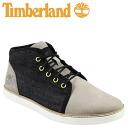Timberland Timberland Earthkeepers headstone chukka boots EK HUDSTON CHUKKA leather men's 6210B grey x denim [3 / 24 new in stock] [regular] ★ ★