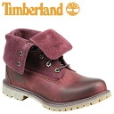 Timberland Timberland Womens authentics suede roll top boots WOMEN's AUTHENTICS SUEDE ROLL-TOP BOOTS men's 8306A a dark Burgundy was Swede [10 / 9 new in stock] [regular]