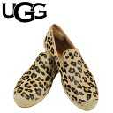 UGG UGG women's Sandrine calf hair Leopard slip-on shoes WOMENS SANDRNNE CALF HAIR LEOPARD calf espadrille 2015 spring summer new 1007148 Leopard [4 / 2 new in stock] [regular] ★ ★