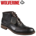 Wolverine WOLVERINE Wesley's 1000 mile wing tip chukka boots WESLEY 1000 MILE WINGTIP CHUKKA BOOT D wise leather mens W05366 Brown [11 / 14 new stock] [regular] ★ ★