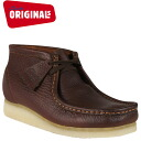 Clarks originals Clarks ORIGINALS boots Wallaby 35422 WALLABEE BOOT-MEN crepe sole men's leather