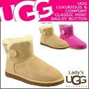 ★ ★ UGG UGG women's mini Bailey button Sheepskin boots 3352 WOMENS MINI BAILEY BUTTON Womens Sheepskin at 50% off!