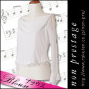 Rose stretch drape blouse (product number: bl680 ) playing presentation blouse Orchestra Chorus No. 9 for chorus costumes chorus costumes stage costume Orchestra costume