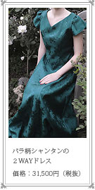 シャンタンの演奏会 用 ロング ドレス