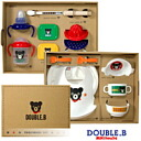 Double B ( Double_B ) tableware Dinnerware sets (10,000 yen)