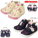 Miki house (mikihouse) Hello! うさこ ♪ second baby shoes rev